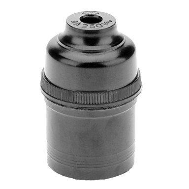 Led Power Supply E27 Droplight Lamp Holder (Black)