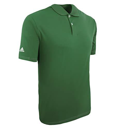 adidas Golf Mens Climalite Contrast Stitch Polo (A114) -Forest -3XL