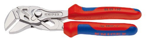 KNIPEX 86 05 150 Pliers Wrench Comfort Grip by KNIPEX Tools by KNIPEX Tools
