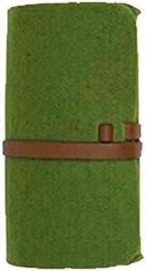 HQWLCIYD Estuche de lápices Estuche para lentes Cierre de cinturón Fieltro Bolsas Bolsos Tipo liado Gafas de lentes portátiles de color sólido Estuche protector para bolsas, Estilo3: Amazon.es: Oficina y papelería