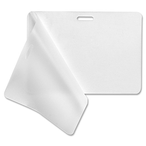 Business Source Government-Size Card Laminating Pouches - Box of 100