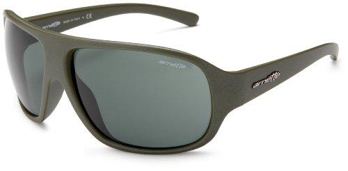 Arnette Alter Ego Sunglasses,Metallic Camo Green Frame/Grey/Green Lens,one - Amazon Arnette Sunglasses