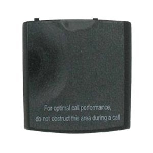 (Samsung OEM i607 Blackjack Replacement Standard Battery Cover - Black)