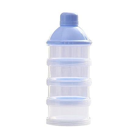 Hrph Tragbare Baby-Säuglingsnahrung Milchpulver & Food Behälter Flasche 3 Zellen Gitterbox AEQW-WER-AW146516