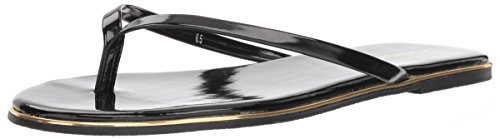 bebe Women's ILISTRA Sandal, Black Patent, 9 Medium ()