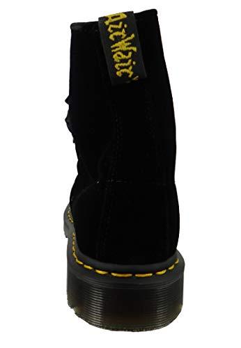 Dr Martens Adult's noir Pascal Boots Unisex Velvet Noir 1460 rUxrPnBvq