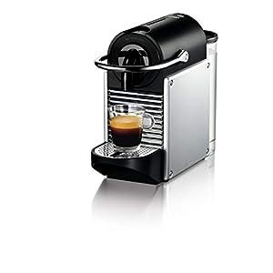 De'Longhi EN 124.S Nespresso Pixie EN124.S Macchina per caffè Espresso, 1260 W, Plastica, Argento, 0.7 Litri, Metallo 13