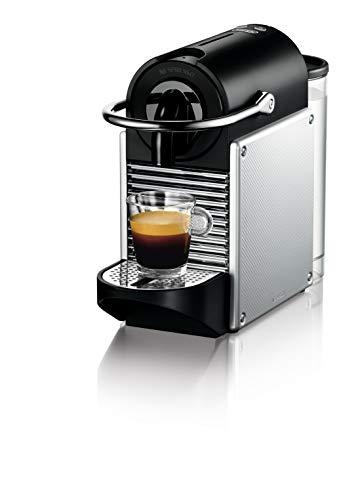 De'Longhi EN 124.S Nespresso Pixie EN124.S Macchina per caffè Espresso, 1260 W, Plastica, Argento, 0.7 Litri, Metallo 1