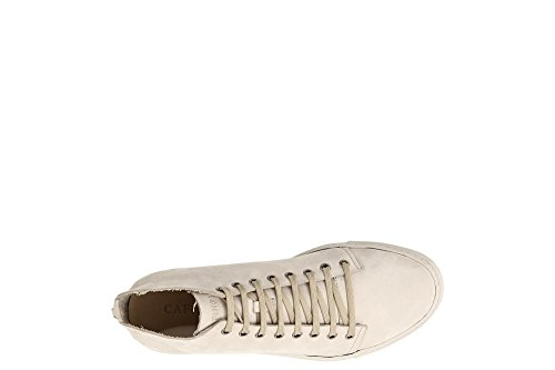 Cafè Noir KPH721 Polished Sneakers in Nabuk 094 Beige free shipping pay with paypal u5fjGdRPP