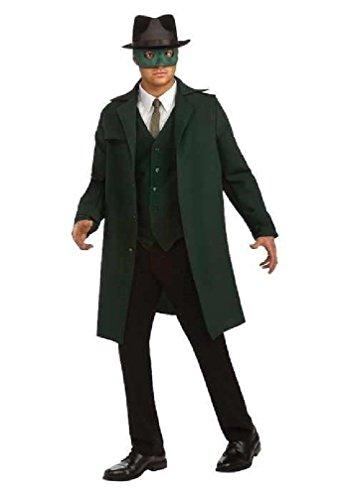 [8eighteen The Green Hornet Deluxe Green Hornet Adult Halloween Costume] (The Green Hornet Costume)