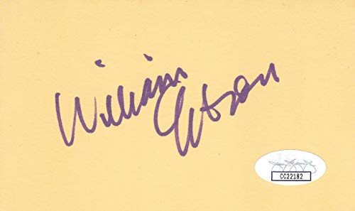 (WILLIAM GIBSON Signed 3X5 Index Card Author/Spook Country CC22182 - JSA)
