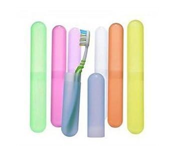 Demarkt Caja Portatil para Cepillo Viaje de Dientes Portacepillos de Dientes Funda Cepillos de Dientes Plástico - Caja Antibacteriana 7PCS - Color ...