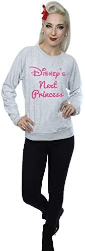 Disney Damen Next Princess Sweatshirt Large Heather Grey