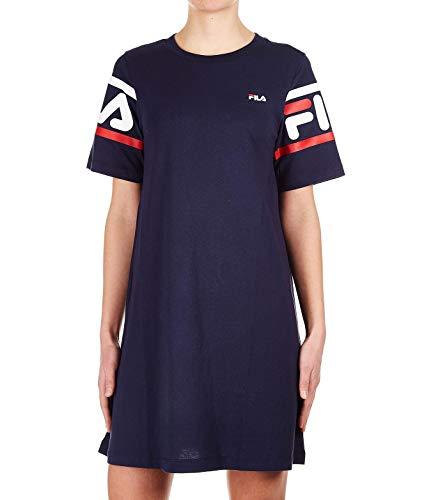 T 687085170 Fila Femme Coton shirt Bleu aTHvgnBIgq