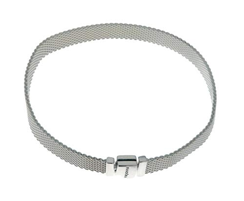 PANDORA Reflexions 925 Sterling Silver Bracelet, Size: 20cm, 7.9 inches - 597712-20