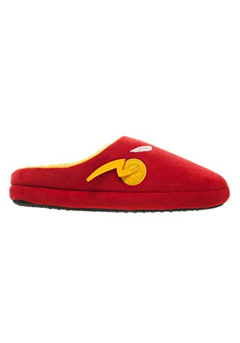 Bioworld Merchandising Independent Sales The Flash Red Scuff Mens Slippers