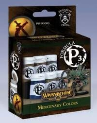 Privateer Press Formula P3 Paint - Mercenary Colors (Privateer Press Paint Set compare prices)