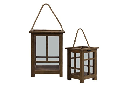 Urban Trends Collections 56902 Lantern, Brown from Urban Trends Collections