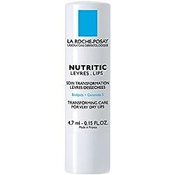La Roche-Posay Nutritic Lips Transforming Care Lip Balm, 0.15 Fl. Oz.