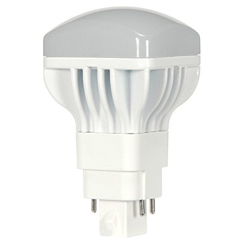 (10-Pack) Satco S9300 13W/V/LED/CFL/827/4P 13-Watt G24q Base LED Direct Replacement for PL 4-PIN CFL's (2700K)