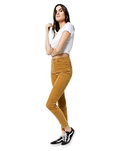 (Rsq Manhattan High Rise Corduroy Skinny Jeans, Camel, 00)