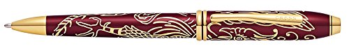 - Cross Townsend Year of The Rooster Titian Red Lacquer Ballpoint Pen (AT0042-45)