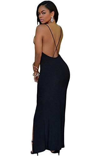 shelovesclothing - Vestido - para mujer negro