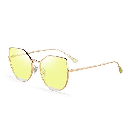 de de des La soleil mode transparentes lunettes des mode Silver femmes la waRA8q