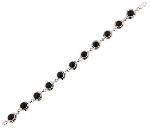 Bracelet Argent 925 Grenat ref 40205