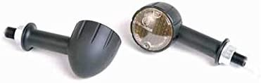 Paar Mini Blinker Arizona Alu schwarz Elektronik E-gepr. lang