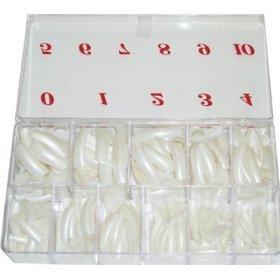 (NAIL TIP PEARL COLOR 550PCS / BOX)