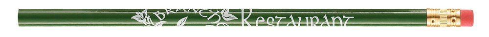 Promotion Pros - 500 Promotional Classic #2 Pencils - Sharpened - Only $0.22 Each - Custom with Your Logo (Green) by Promotion Pros