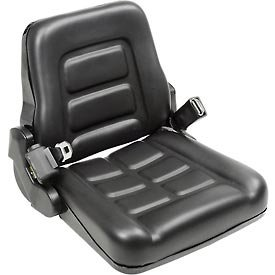 Vinyl Forklift Truck Seat with Seat Belt ()