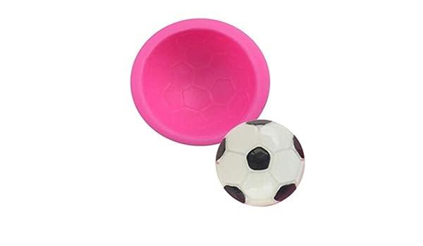 Moldes de silicona para tarta con forma de balón de fútbol, diseño de jirafa con texto en inglés