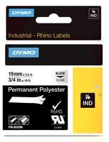 TAPE PERM PERM PERM POLY schwarz ON CLEAR 19MM 622290 By DYMO B01186RGQA Schriftbnder Vollständige Spezifikation d55d5c