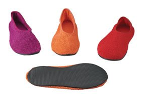 Posy Valmanagement Slippers, Oranje, Medium, 5 Paar Per Verpakking