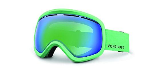Veezee - Dba Von Zipper Skylab Ski Goggles, Mono Mint Satin/Quasar - Zipper Sunglasses Von Green