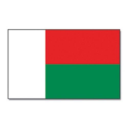 Madagascar bandera grande 90x 150cm