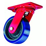 Hamilton S-HS-8MB Swivel Caster wth 8''x2'' Metal Wheel