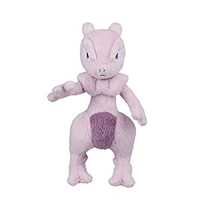 "Pokemon Mewtwo Strikes Back Evolution Movie Ver. 5"" Character Plush Toy Soft Stuffed Doll Collection Anime Art: Toys & Games"