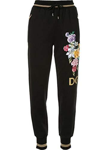 - Dolce e Gabbana Women's Ftbf1zg7tbhn0000 Black Cotton Pants
