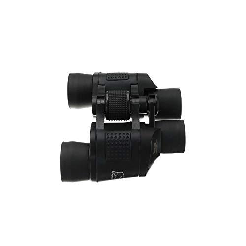 Night Vision 60X60 High Definition Telescope Outdoor Yes Hunting 17Mm 5.0M Binoculars,Black