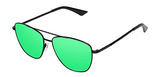 Negro Lax Verde Gafas Emerald Hawkers Black Unisex Sol de 10PqZfHwx