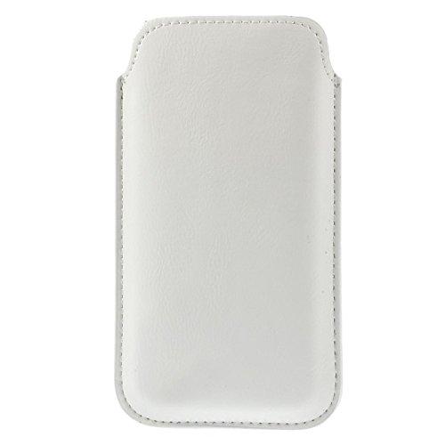Funda color blanco para iPod Touch 6/6 G/6th en sintética con ...