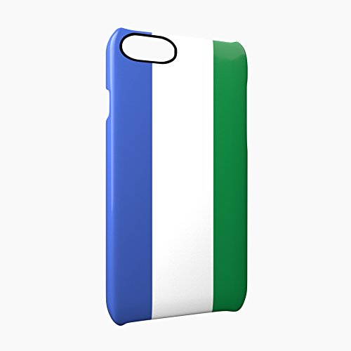 Flag of Sierra Leone Glossy Hard Snap-On Protective iPhone 7 Case Cover