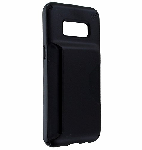 - Speck Presidio Wallet Series Hardshell Case Cover for Samsung Galaxy S8 - Black