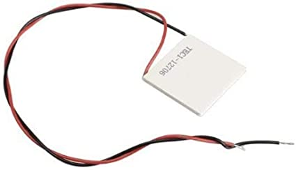 12V 60W Tec1-12706 Disipador De Calor Enfriador Termoel/éctrico M/ódulo De Placa De Enfriamiento Peltier Tec1-12706