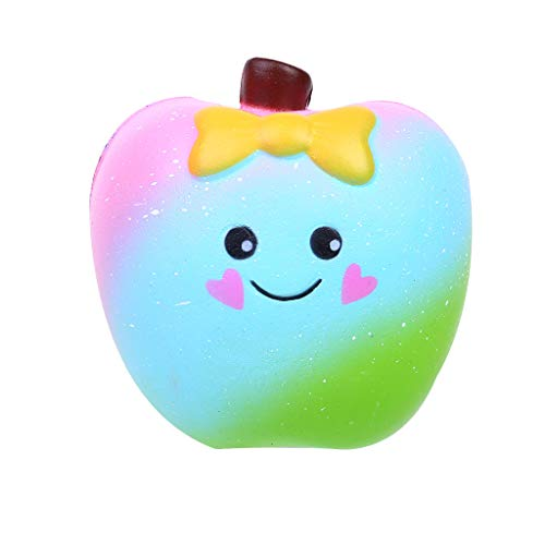 NOMENI Slow Rebound Aromatic Apple Decompression Educational Toy Scented Apple Charm Super Soft Slowly Rising -