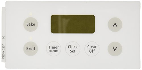 Electrolux Part Number 316220700: Clock Overlay