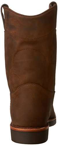 Chippewa Hommes 10 Robuste Boot-on Bootcraft Chocolat Apache